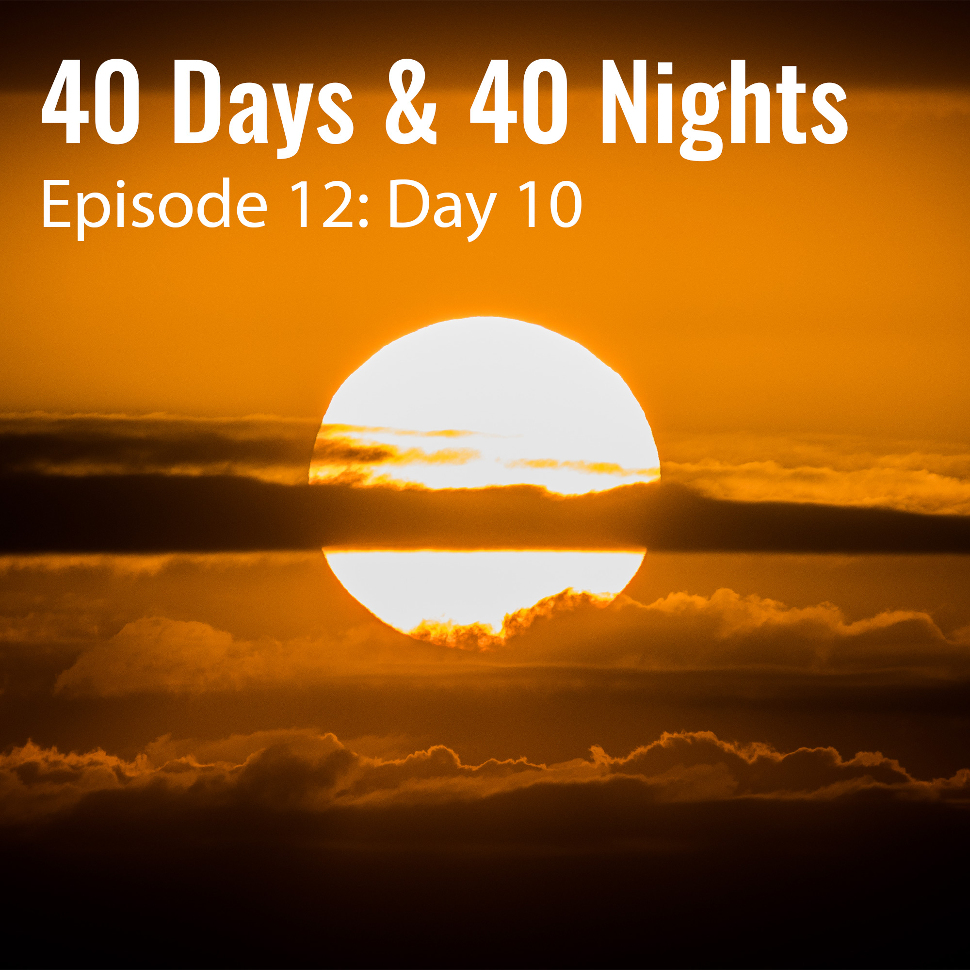 Day-10-40 days and 40 nights