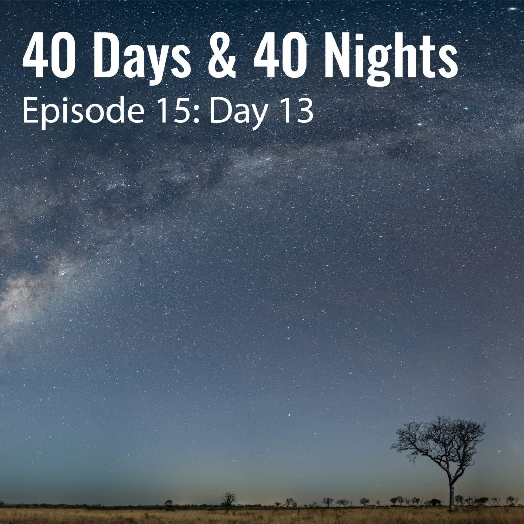 Day 13 40 days and 40 nights